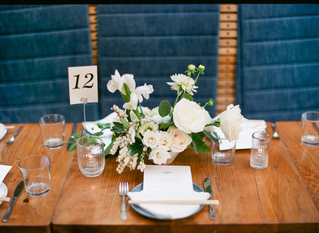 wedding centerpiece, Hinoki & the Bird, Moxie Bright Events