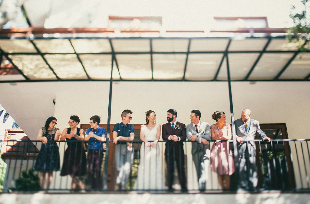 Nerd Chic Fall Wedding at The 1909 | Kendal & Dave