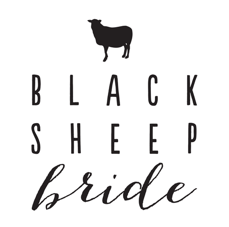 Black Sheep Bride blog logo