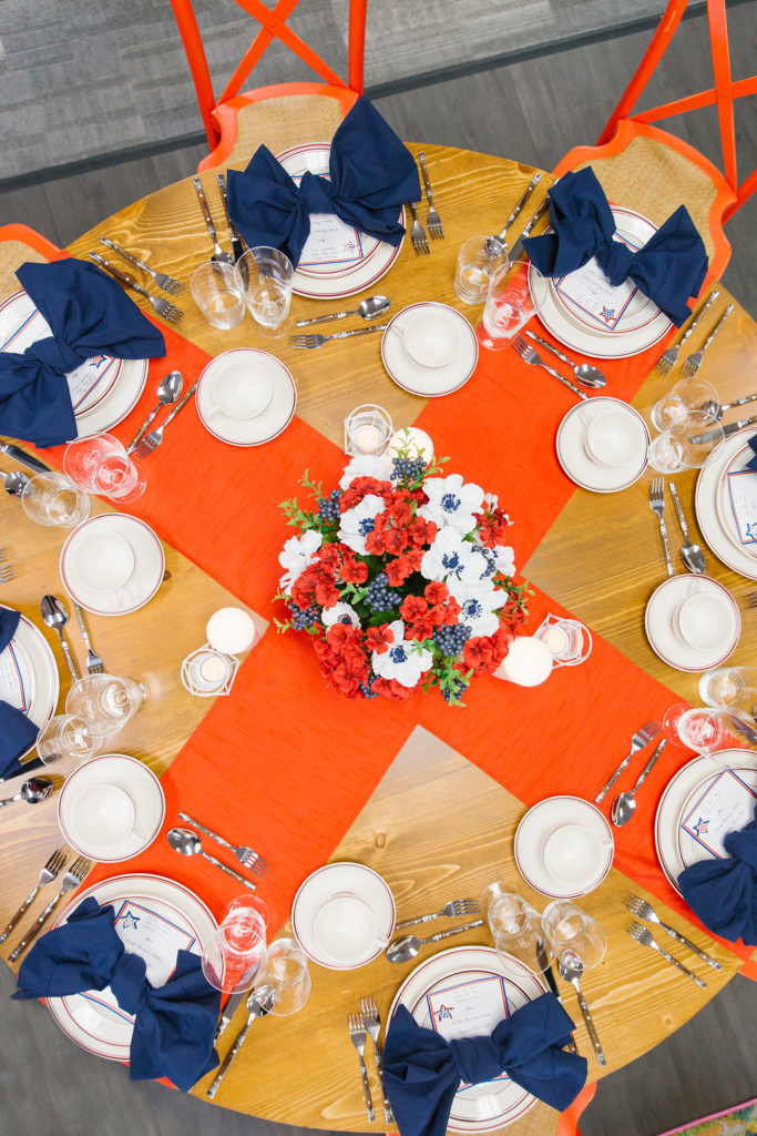 Fourth of July table design