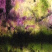 "ProtoNext #145 Acrylic on Paper, mounted on wood, 5""x5"""