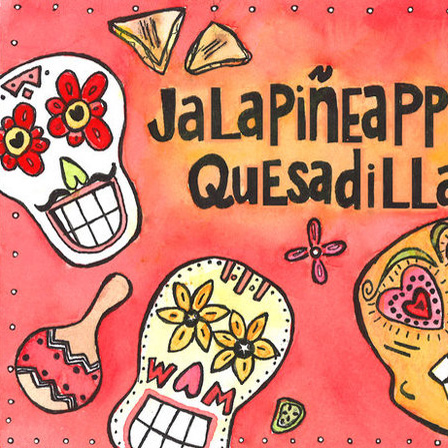 Jalapineapple Quesadillas by Flannery Haas