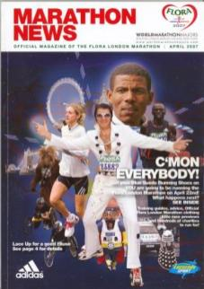 portada revista london marathon 07 mini