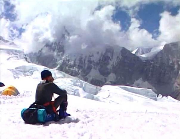 Göran Kropp campo altura Everest 1996 2