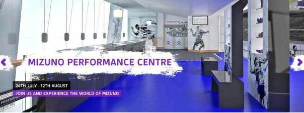 Mizuno Performance center Olimpiadas en Londres