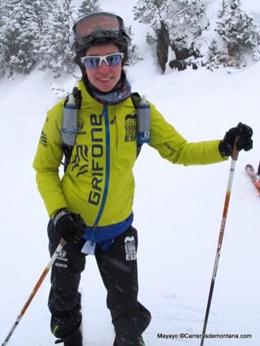 Marta García Farrés, doble medalla bronce en Europeo Skimo sub23