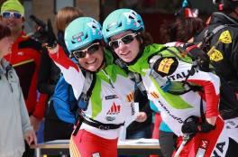 esqui de montaña marta garcia farres y mara pobleta campeonas españa por equipos