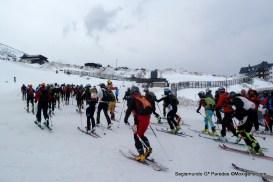 skimo skirace copa norte 2015 Cuitu salida