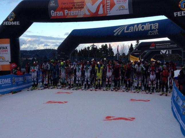 esqui de montaña fotos fedme salida_lamolina