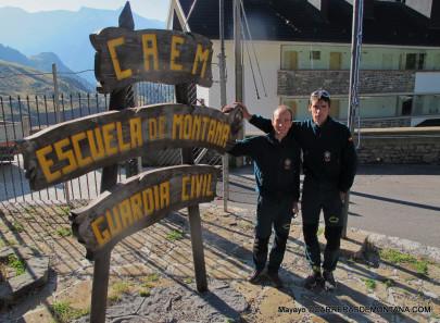 Escuela Montaña Guardia Civil, en Candanchú. Foto: mayayo.