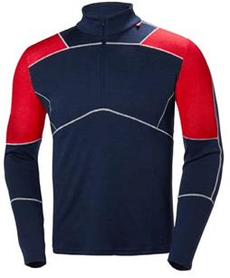 Helly Hansen Lifa Merino zip camiseta esqui y montaña