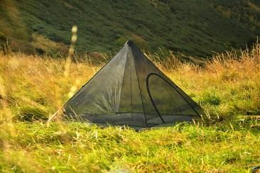 DD Hammocks SuperLight Pyramid Mesh Tent 3