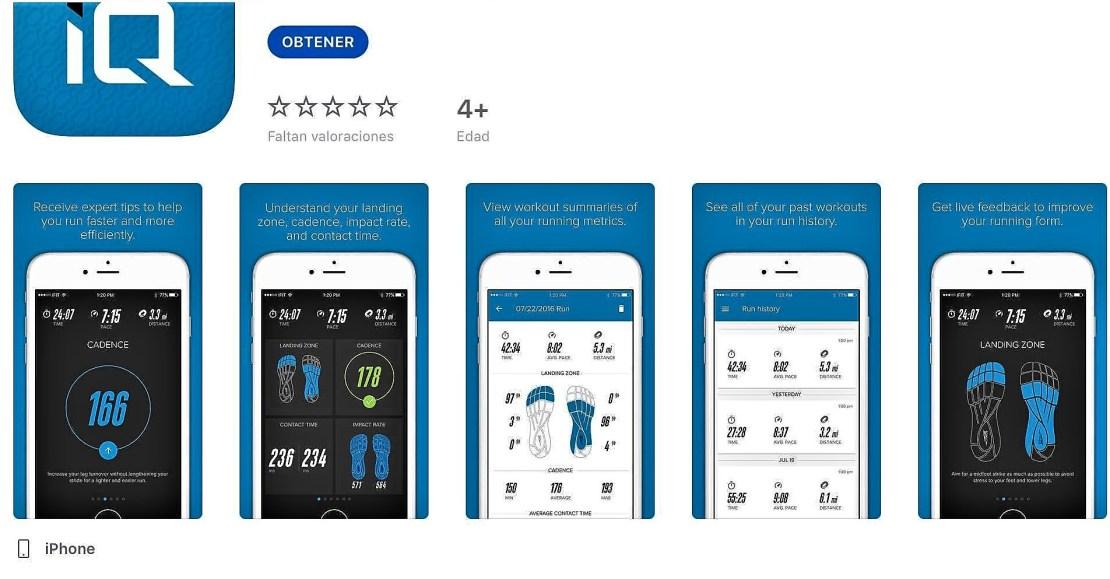 Altra IQ app natural running