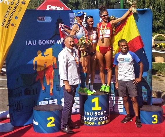mundial ultrafondo 50k 2019 bronce españa Alicia perez
