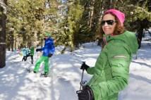Graechen: Schneeschuhlaufen