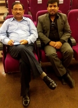 Raj Mahajan and Dr. Muktesh Chander (IPS, DGP Goa) (5)