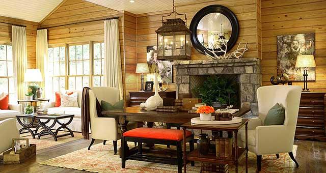 Дизайн зала в частном доме: как сделать своими руками, с