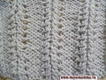 Modelli per sciarpe a maglia con attrezzature per maglieria - Jell per la sciarpa a maglia