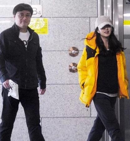 韓国女優スエの熱愛の彼氏