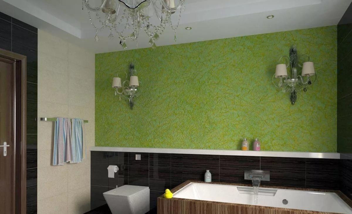 5c401bd01070b3 Knauf-stucwerk voor de badkamer. Pleister voor de badkamer ...