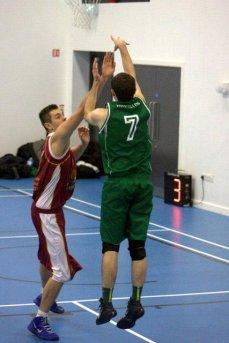 Chris shoots V former teamates