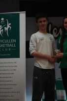U18 Boys Player of the Year Eoghan Kelly