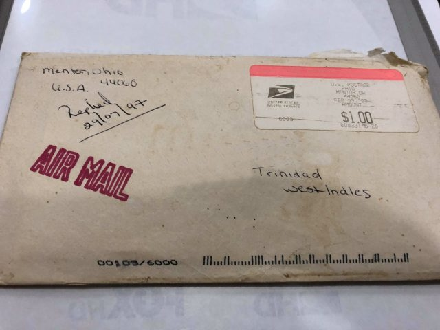 airmail from Trinidad