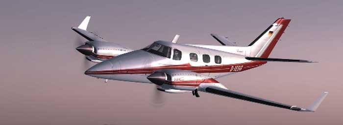 аренда самолета duke b60 на Кипре