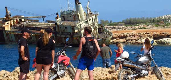 Пафос экскурсии на мотоциклах