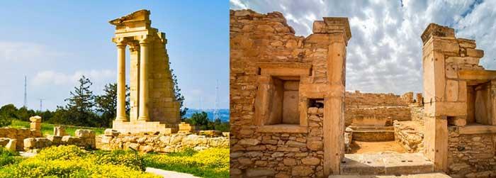 Самые интересные места в Лимассоле храм Аполона