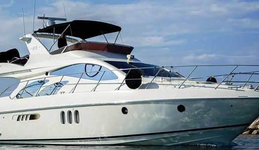 аренда яхты на Кипре в Ларнаке azimut 55