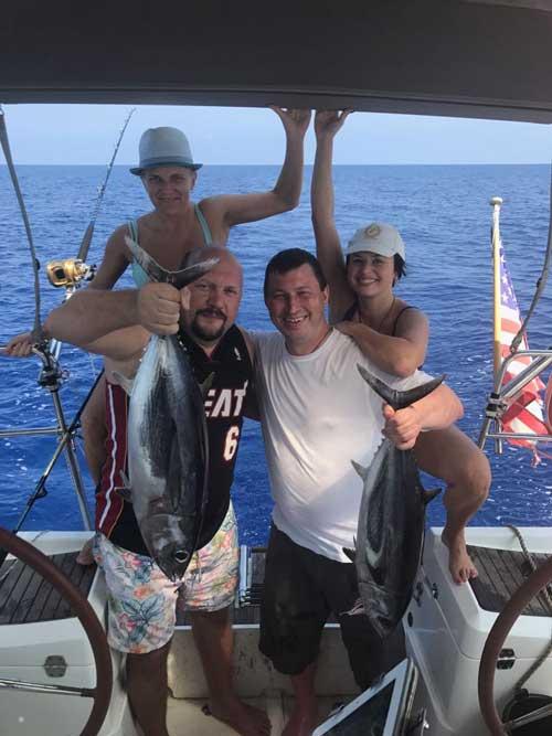 рыбалка на яхте Кипр