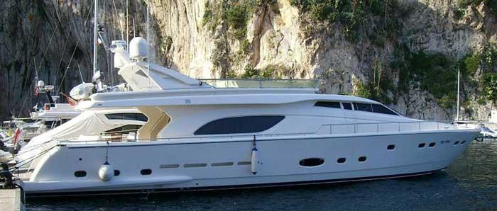 Аренда яхты на Кипре Ferretti 810 Айя Напа