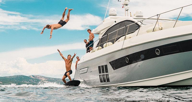 Организация вечеринок на яхте Кипр