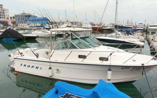 Аренда катера для рыбалки на Кипре
