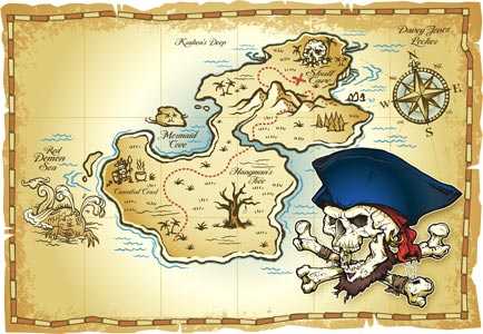 Кипр карта сокровищ