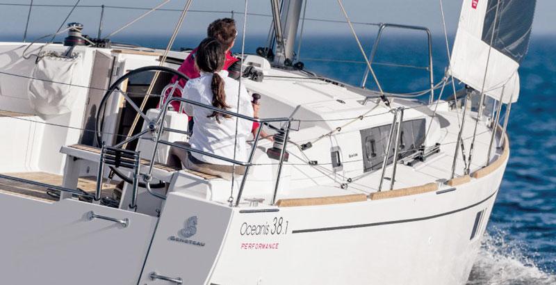 Аренда яхты в Лимассоле oceanis 38.1 Кипр