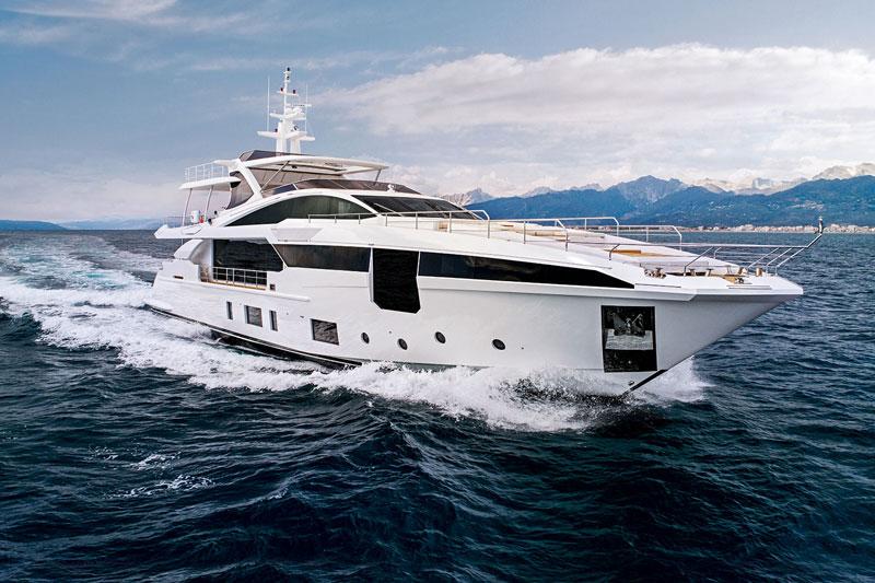 Продажа яхты azimut grande 35m на Кипре