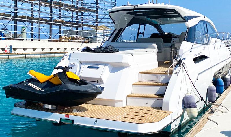 Аренда яхты в Айя Напе azimut 51 atlantis Кипр