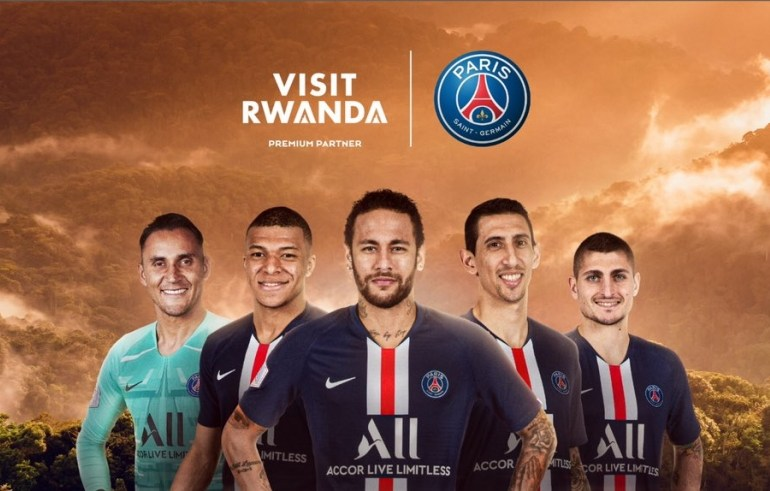 Rwanda and PSG Partnership