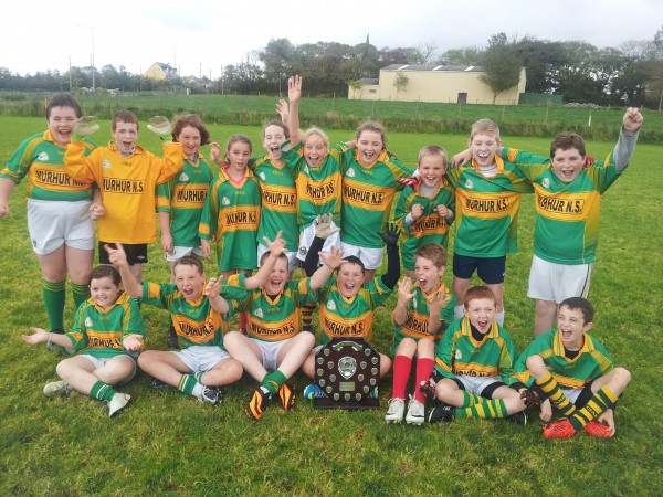 Players from Moyvane National School
