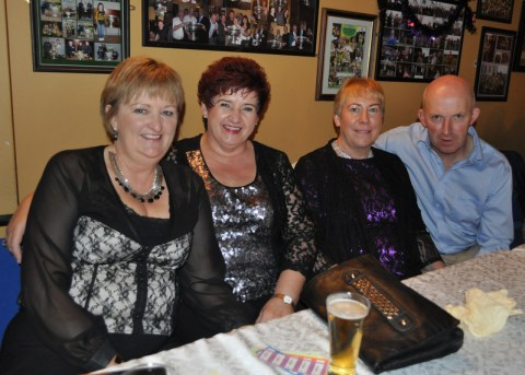 Brenda Hanrahan, Breda Buckley with Mary & Eamon Scannell