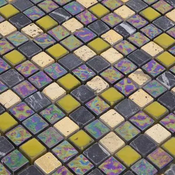 Mozaiek Multi Lime