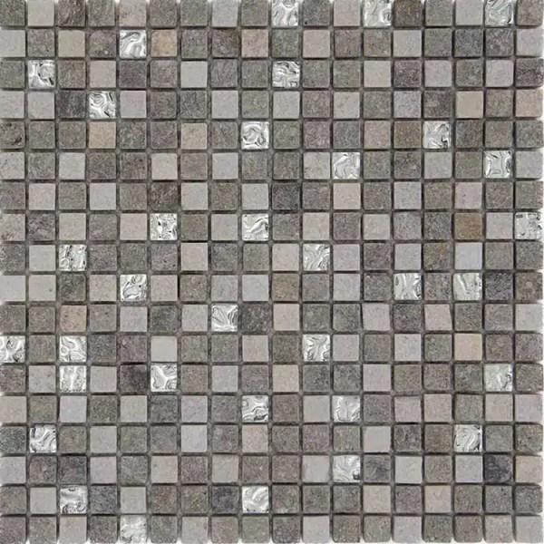 Mozaiek Luserna Kristal
