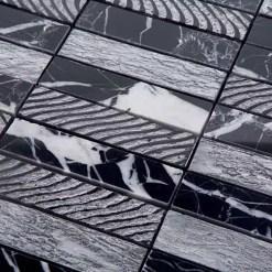 Mozaiek Luxor Zilver Lei