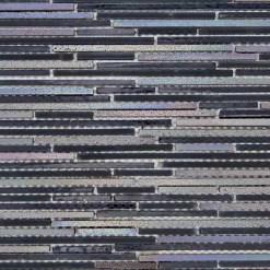 Mozaiek Donkere Stroken Mix