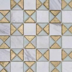 Mozaiek Hydra Goud