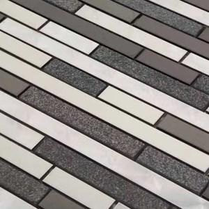 Mozaiek Steenstrip Donker