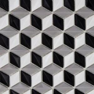 Mozaiek 3D Kubus