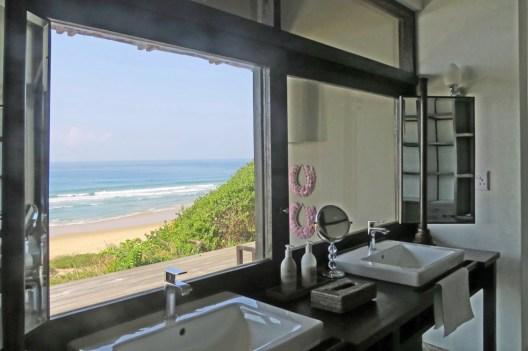 Bathroom Window View